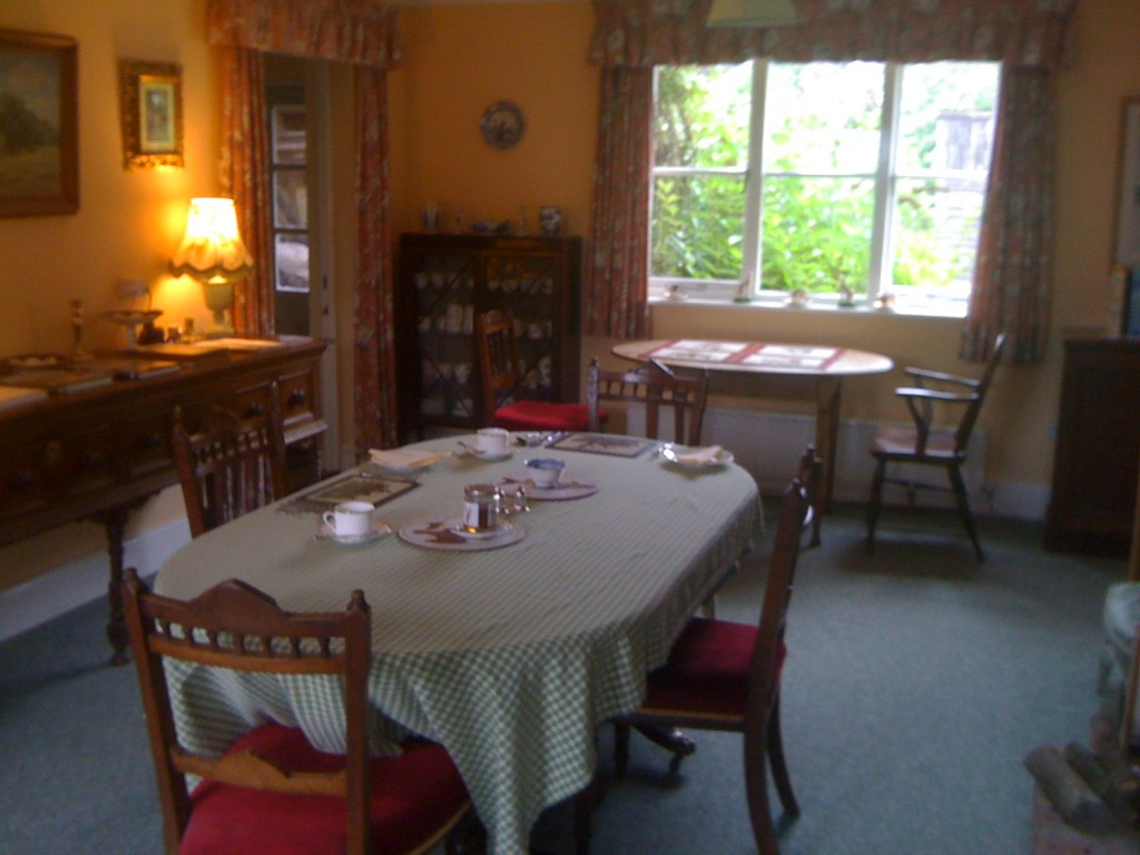Dorset Bed and Breakfast - The Dining Room